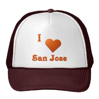 San Jose -- Burnt Orange Hats