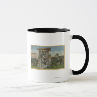 San Jose, CA - Replica of Egyptian Shrine Mug