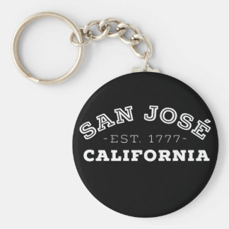 San Jose California Keychain