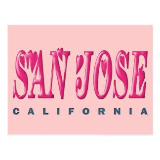 SAN JOSE, CALIFORNIA POSTCARD