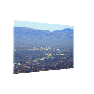 San Jose California Wrapped Canvas Print