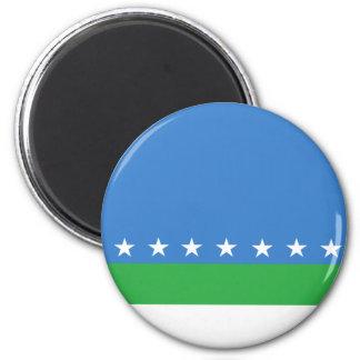 San Jose Costa Rica, Comoros flag Magnet
