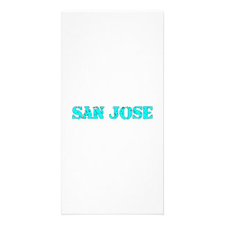 San Jose Custom Photo Card