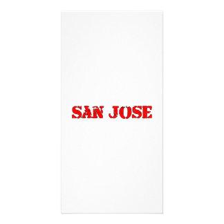 San Jose Customized Photo Card