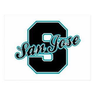 San Jose Letter Postcard