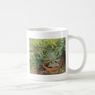 San Jose Mission Garden Painting Coffee Mug