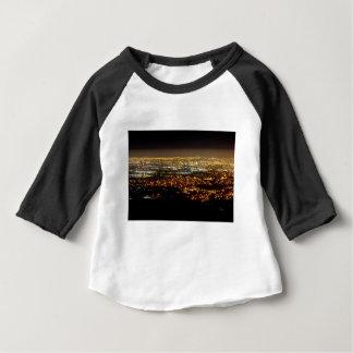San Jose Night Skyline Baby T-Shirt