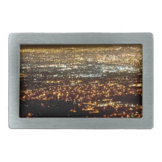 San Jose Night Skyline Belt Buckles