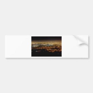 San Jose Night Skyline Bumper Sticker