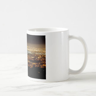 San Jose Night Skyline Coffee Mug