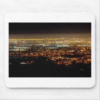 San Jose Night Skyline Mouse Pad