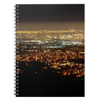San Jose Night Skyline Notebook