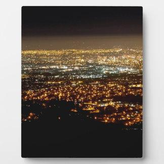 San Jose Night Skyline Plaque