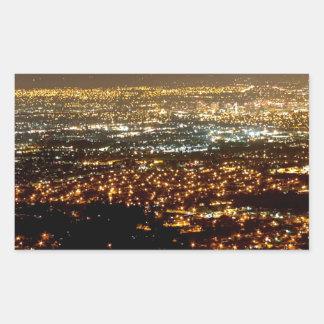 San Jose Night Skyline Sticker