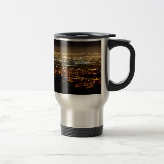 San Jose Night Skyline Travel Mug