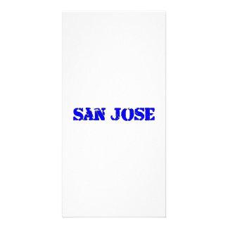 San Jose Photo Greeting Card