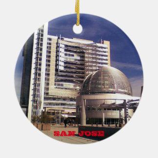 San Jose Scenic Christmas Ornament