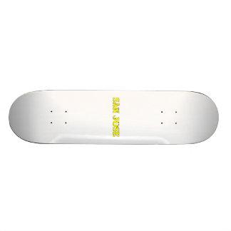 San Jose Skateboard Deck