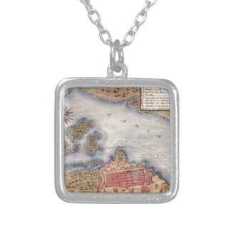 San Juan 1770 Silver Plated Necklace