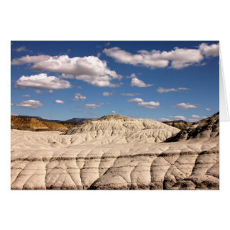San Juan Badlands, New Mexico Card