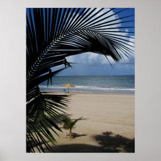 San Juan Beach Puerto Rico Poster