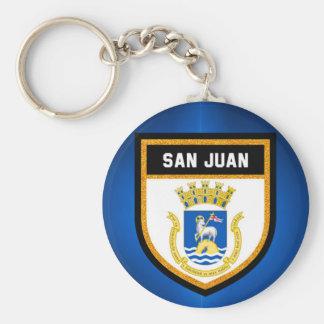 San Juan Flag Keychain
