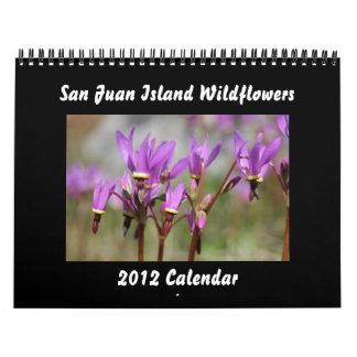 San Juan Island Wildflowers Calendars
