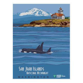 San Juan Islands Postcard