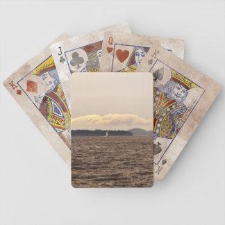 SAN JUAN ISLANDS SAIL BICYCLE PLAYING CARDS