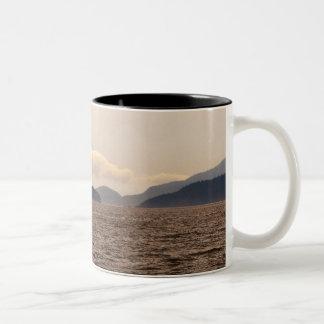 San Juan Islands Sail Two-Tone Coffee Mug