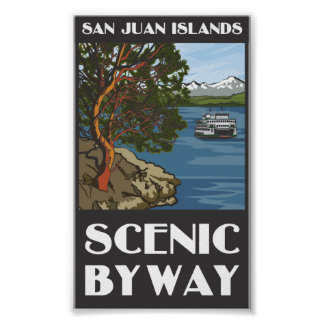 San Juan Islands Scenic Byway Poster