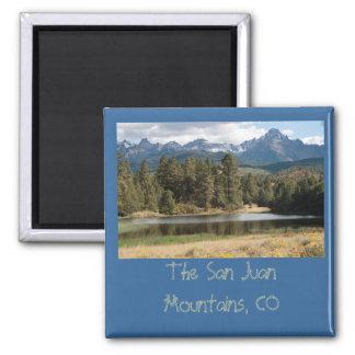 San Juan Mountains Fridge Magnets