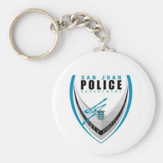 San Juan Police Keychain
