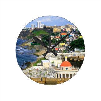 San Juan Puerto Rico Clock