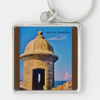 San Juan, Puerto Rico Keychain