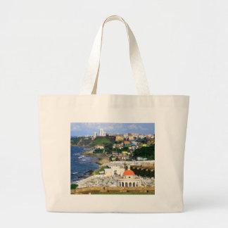 San Juan Puerto Rico Large Tote Bag