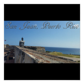 San Juan Puerto Rico Perfect Poster