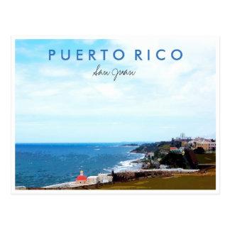 San Juan Puerto Rico Travel Photo Souvenir Postcard