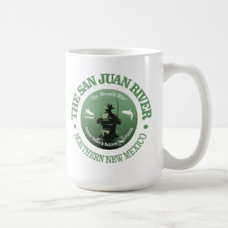 San Juan River (Fly Fishing) Coffee Mug