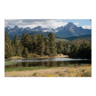 San Juans in Late Summer Poster