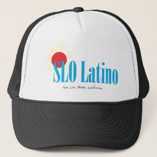 San Luis Obispo Latino Trucker Hat