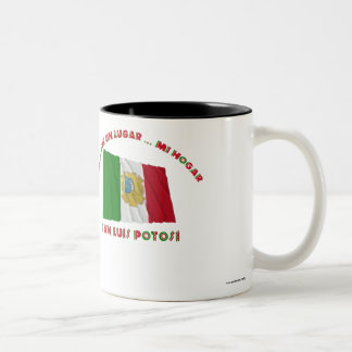 San Luis Potosí - Más Que un Lugar ... Mi Hogar Two-Tone Coffee Mug