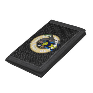 San Luis Rey de Francia Tri-fold Wallets