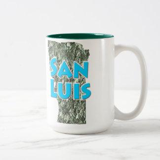 San Luis Two-Tone Coffee Mug