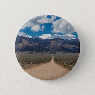 San Luis Valley Back Road Cruising 2 Inch Round Button