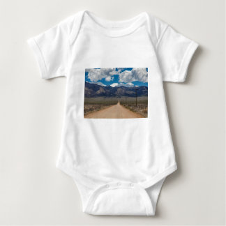 San Luis Valley Back Road Cruising Baby Bodysuit