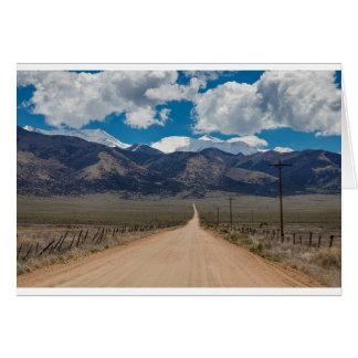 San Luis Valley Back Road Cruising Card