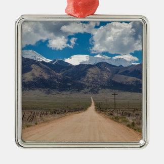 San Luis Valley Back Road Cruising Metal Ornament