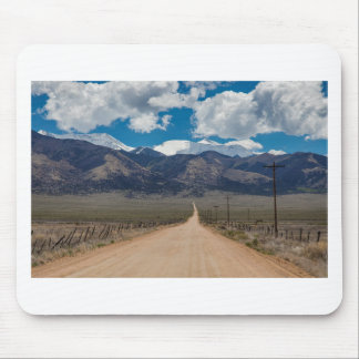 San Luis Valley Back Road Cruising Mouse Pad