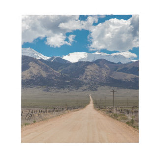 San Luis Valley Back Road Cruising Notepad